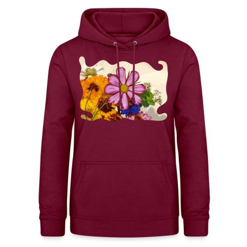 Pink flower - Vrouwen hoodie