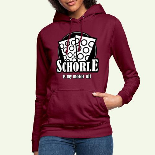 Schorle is my Motoroil Dubbeglaeser - Frauen Hoodie