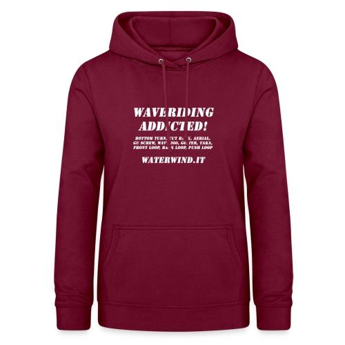 waveriding add bianco - Women's Hoodie