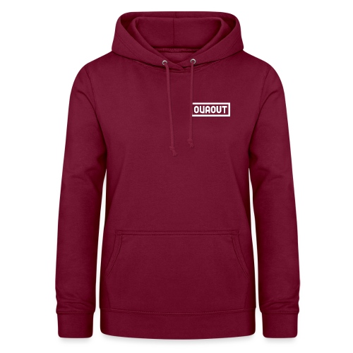 OVAOUT Letters - Frauen Hoodie