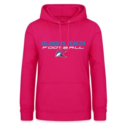 islanders football new logo - Felpa con cappuccio da donna