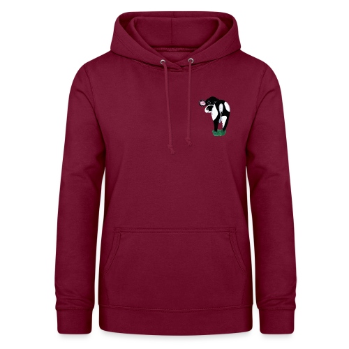 Quirky Cows Rear view - Women's Hoodie