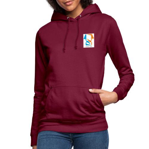 Logo CIFTA final RGB - Sudadera con capucha para mujer