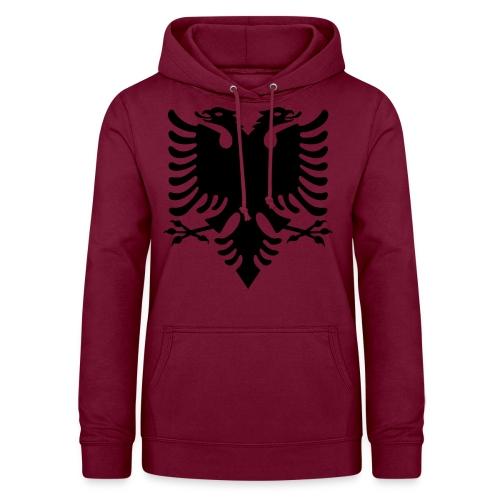 Kosovo Doppelkopfadler Shqiptar Shqipe - Frauen Hoodie