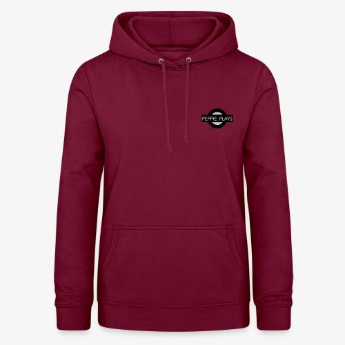 Peppie Plays Logo - Vrouwen hoodie