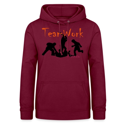 team work V2 - Sweat à capuche Femme
