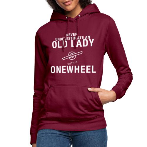 Old Lady Onewheeler - Dame hoodie
