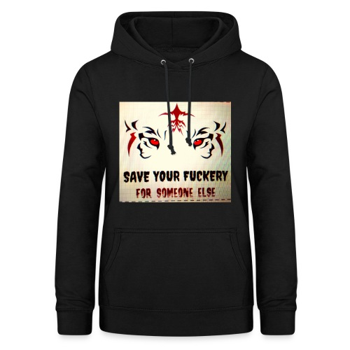 NO TIME FOR BS - Vrouwen hoodie