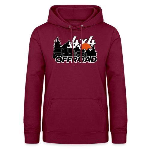 Offroad 4x4 Jeep Logo - Frauen Hoodie
