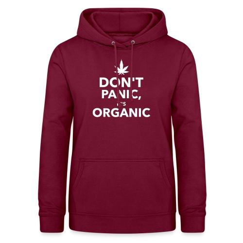 Don't panic it's organic - Sweat à capuche Femme