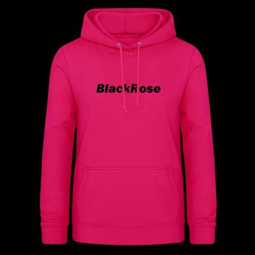 BlackRose - Sudadera con capucha para mujer