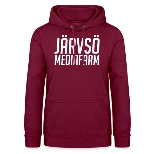 Järvsö MediaFarm White Logo - Women's Hoodie