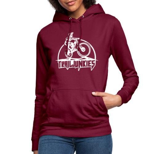 Trailjunkies Downhill - Frauen Hoodie