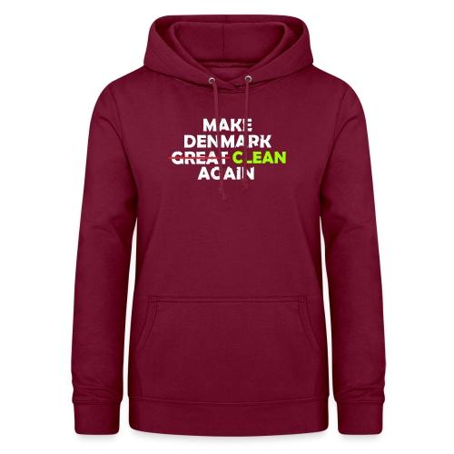 Make Denmark Clean again - Dame hoodie