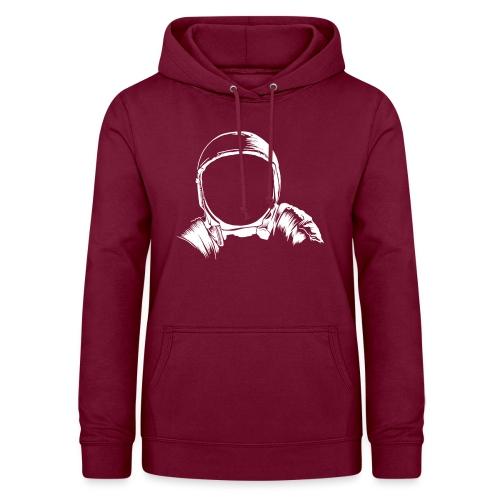 Astronauten Helm - Frauen Hoodie