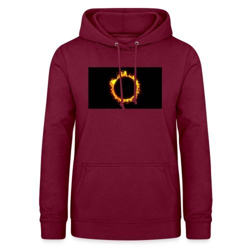 Flames - Dame hoodie