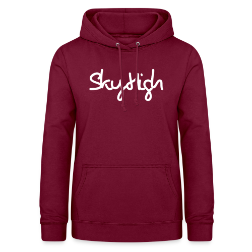 SkyHigh - Men's Premium T-Shirt - White Lettering - Women's Hoodie