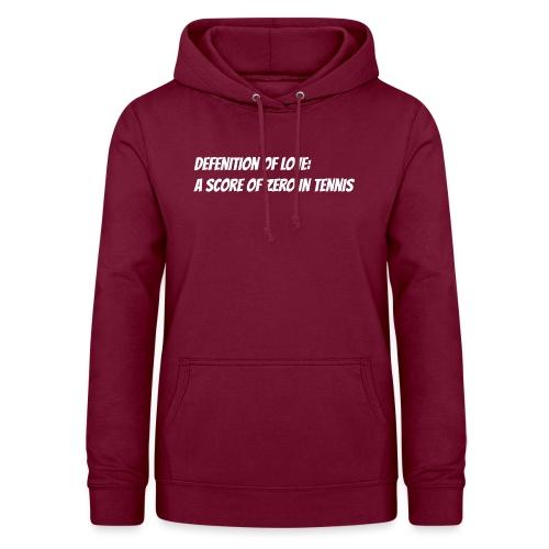Tennis Love sweater men - Vrouwen hoodie