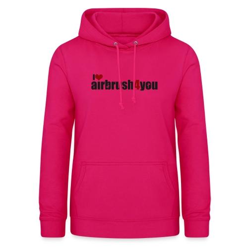 I Love airbrush4you - Frauen Hoodie