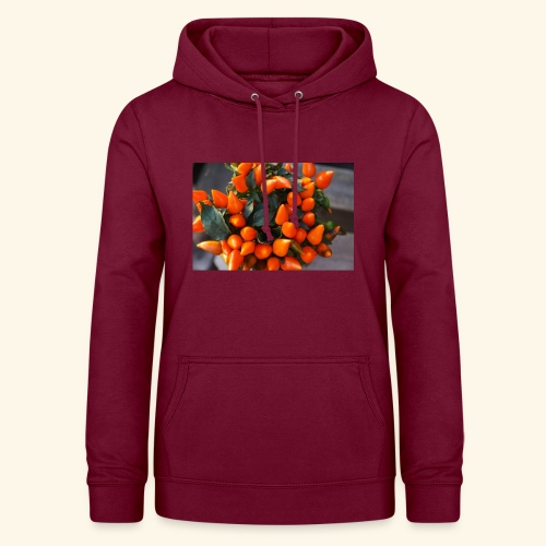 chili orange - Frauen Hoodie