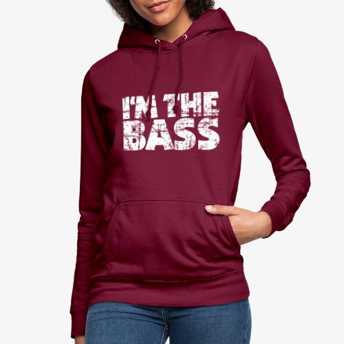 I'm the Bass Vintage White - Frauen Hoodie