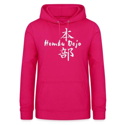 HombuDojo logo wt trans hr - Women's Hoodie