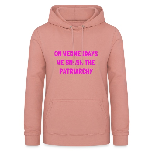 SMASH THE PATRIARCHY - Dame hoodie
