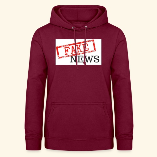 fake news - Women's Hoodie
