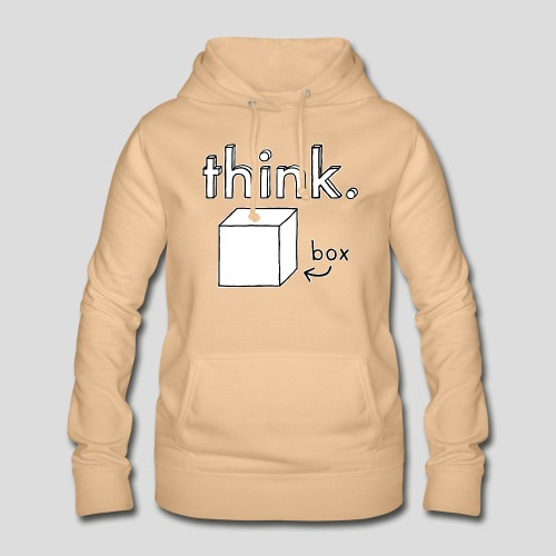 Think Outside The Box Illustration - Women's Hoodie