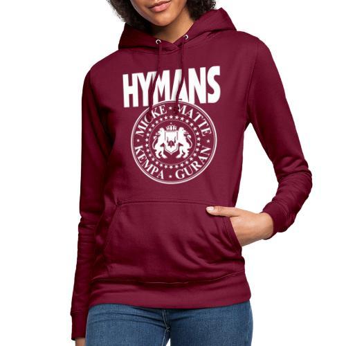 Hymans White classic logo print - Luvtröja dam