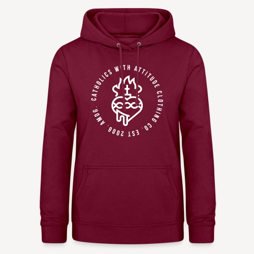 CATHOLICS WITH ATTITUDE CLOTHING CO. - Women's Hoodie