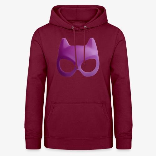 Bat Mask - Bluza damska z kapturem