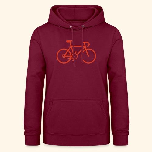 Rennrad, Race-Bike, Fahrrad - Frauen Hoodie