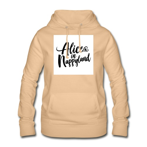 Alice in Nappyland Typography Black 1080 1 - Women's Hoodie
