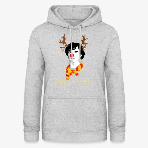 Sherlock Holmes reindeer editie - Vrouwen hoodie