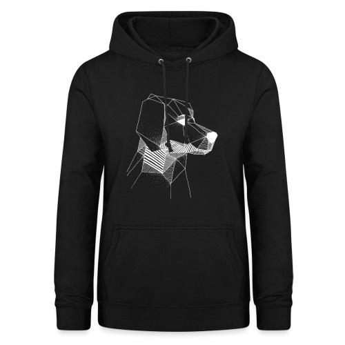 Golden Retriever Geometrisch Wit - Vrouwen hoodie
