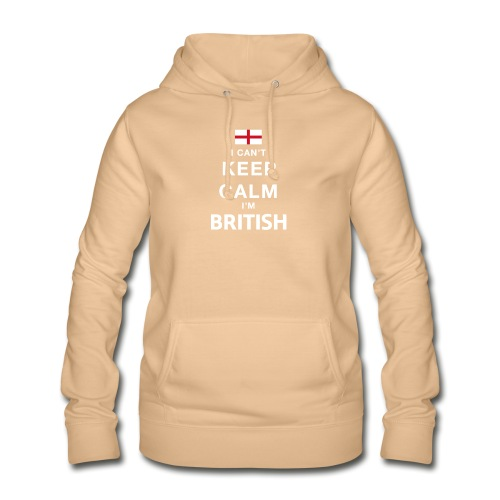 I CAN T KEEP CALM british - Frauen Hoodie