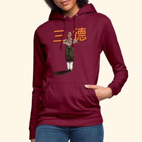 Gordon Liu - San Te - Monk (officiel) 9 prikker - Dame hoodie