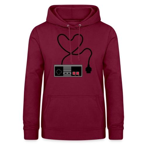 NES Controller Heart - Women's Hoodie