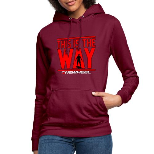This Is The OneWheel Way - Dame hoodie
