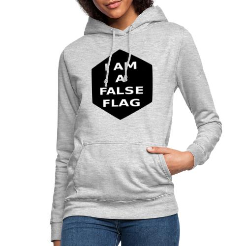 I am a false flag - Frauen Hoodie