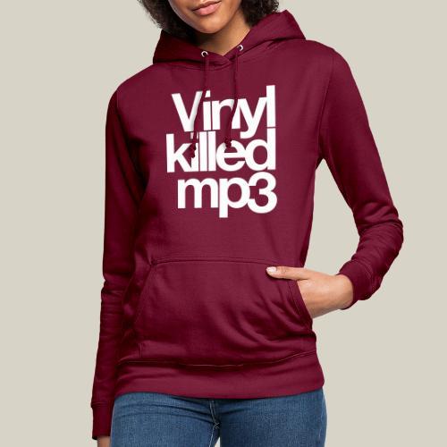 Vinyl_killed_mp3 - Naisten huppari