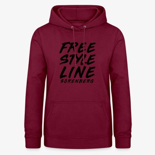 FS-Line brush black - Frauen Hoodie