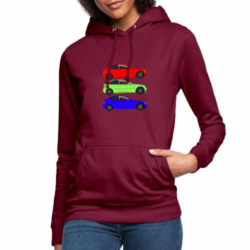 3 Color M Compact E46 - Frauen Hoodie