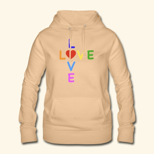 Rainbow Love. Regenbogen Liebe - Frauen Hoodie