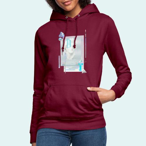 Glitch art - Dame hoodie