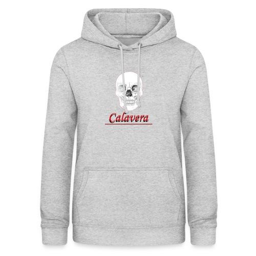 Calavera - Sudadera con capucha para mujer