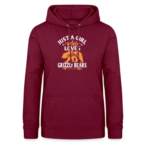 just a girl who loves Grizzly Bears - Vrouwen hoodie