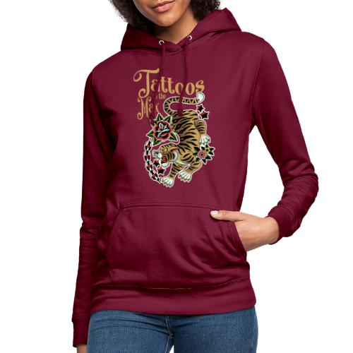 Tattoos to the Max - Tiger Unchained - Frauen Hoodie