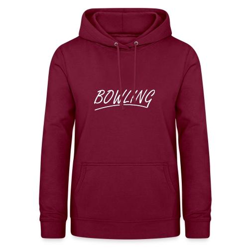 Bowling souligné - Sweat à capuche Femme